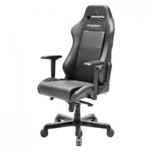 Fotel gamingowy DXRacer Seria Iron OH/IS03/N czarny do 135 kg