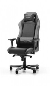 Fotel gamingowy DXRacer Seria Iron OH/IS11/NG czarno-szary do 135 kg